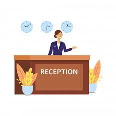 Empresa busca recepcionista con o sin expriencia