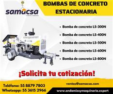 Bomba para concreto modelo Mayco