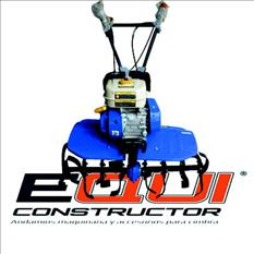 Motocultor transmisión banda equiconstructor
