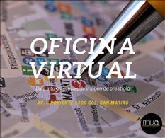 Renta una oficina virtual en excelente zona