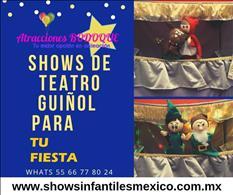 SHOW DE TITERES Y TEATRO GUIÑOL EN IZTACALCO