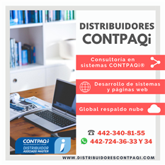distribuidores CONTPAQi en Querétaro
