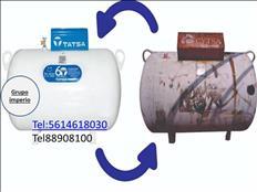 TATSA remplazo tanque estacionario de 300lts a solo$5,700