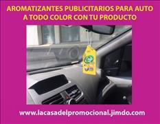 AROMATIZANTES PERSONALIZADOS PARA AUTO PARA CAMPAÑAS