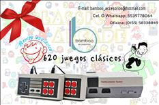 Mini Consola Clásico con 620 juegos incluidos