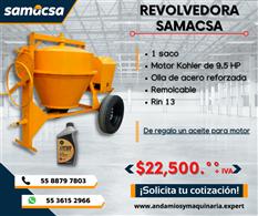 Revolvedora Samacsa promocion