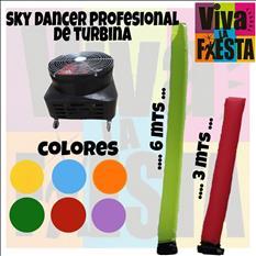 RENTA DE SKY DANCER Y BOTARGAS