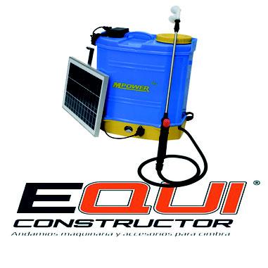 Fumigadora Electrica Solar 20L Equiconstructor
