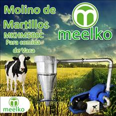 (Vaca) Molino de biomasa a martillo - MKH500C-C