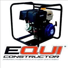 Motobomba 3 centrifuga para agua equiconstructor