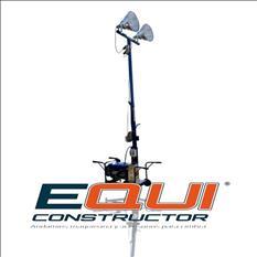 Torre de Iluminación 2 Focos Mpower TI2000SL