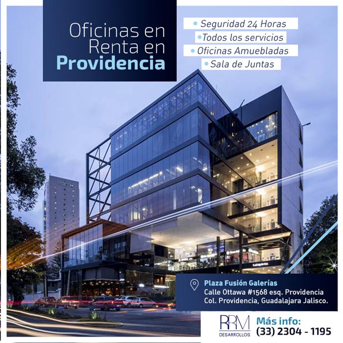 Renta Oficina Premium En Providencia...