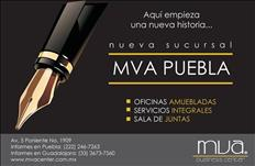 EN PUEBLA MVA TE OFRECE SU SERVICIO DE OFICINAS..