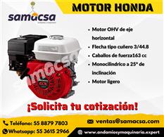 Motor a gasolina Honda samacsa