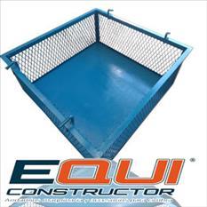 Canastilla de elevación de materiales equiconstructor