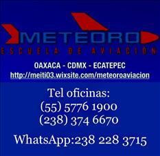 CURSOS DE AVIACIÓN EN OAXACA Y ECATEPEC EDO MEX