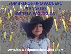 SOMBREROS PLEGABLES PUBLICITARIOS