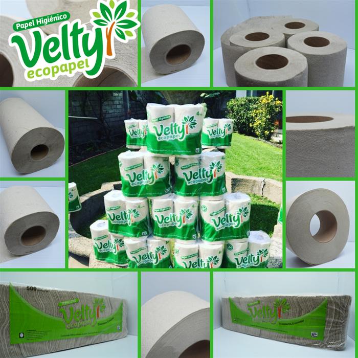 Papel Ecológico Velty