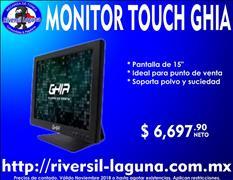 MONITOR TOUCH GHIA PARA PUNTO DE VENTA