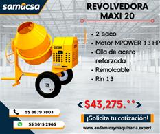 Revolvedora Modelo Maxi 20