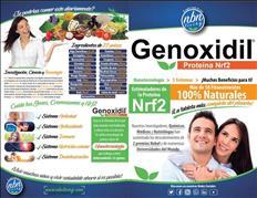 Genoxidil nrf2  salud antioxidante