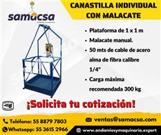 Canastilla individual