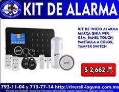 KIT DE ALARMA GHIA GAL-001
