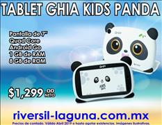 TABLET GHIA KIDS PANDA