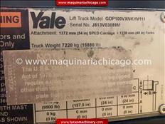 Montacargas YALE 10,000 lbs en venta