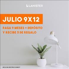EVITA GRANDES INVENCIONES RENTA OFICINA CON LANISTER