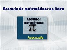 Asesoría en matemáticas online