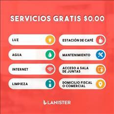 OFICINAS AMUEBLADAS CON SERVICIOS GRATIS EN LANISTER