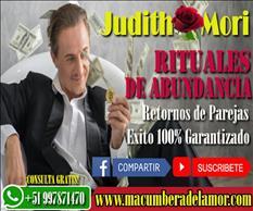 RITO DE ABUNDANCIA JUDITH MORI +51997871470