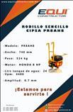 Rodillo sencillo cipsa pr8ah8 equiconstructor