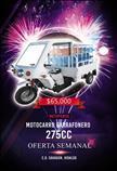 Motocarro Garrafonero 275CC