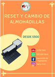 Reset y Cambio de Almohadillas Epson