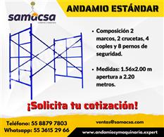 Andamio 1.56*2.00