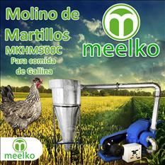 (Gallina) Molino de biomasa a martillo eléctrico