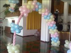 Decoración con globos para tu evento !!!s