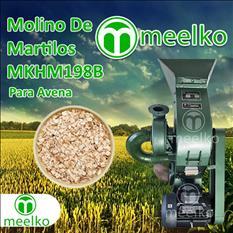 (Avena) a martillo Molino triturador de biomasa
