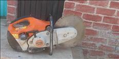 Serrucho de cortar cemento y acero