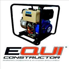 Motobomba Agua 4x4 Diesel, marcha eléctrica y batería MPower