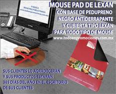 TAPETE PUBLICITARIO DE LEXAN PARA MOUSE
