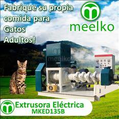 MKED135B Extrusora - pellets alimento de gatos