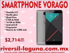 SMARTPHONE VORAGO CELL-500 V2 PLATA