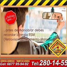 Animate a manejar con nosotros en Autoescuela Culiacán