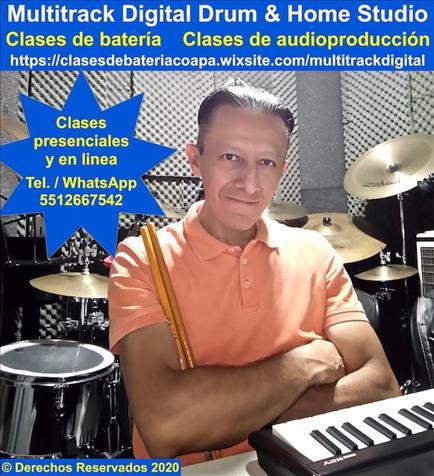 Clases De Bateria Y Audioproduccion Presencial O En Linea