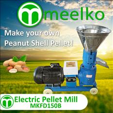 Meelko Peletizadora para alfalfas MKFD150B