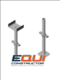 Cabezal nivelador para andamios equiconstructor