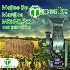 (Tallos Secos) Molino triturador de biomasa a martillo